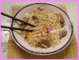 cuisiner vermicelle de riz boeuf aux vermicelles de riz cuisine et passions