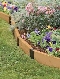 Raised Flower Bed Corners - raised bed connectors u2013 accessory for easy customizable gardening