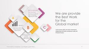 3d templates for powerpoint 3d paper infographic powerpoint template