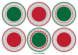 christmas labels free vector art 9027 free downloads