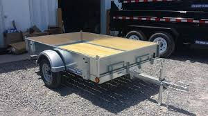 Utility Bed Trailer 2017 Sure Trac 5x8 Galvanized Tilt Bed Utility Trailer New And