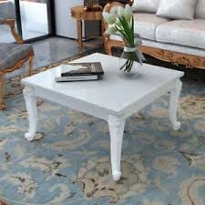 square cottage coffee table shabby cottage chic white square coffee table french vintage style