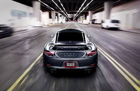 porsche 911 back porsche 911 carrera s grey road speed porsche carrera grey back of