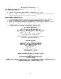 Electrical Engineer Resume Examples by Engineer Resume
