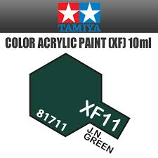 tamiya 81713 acrylic mini xf 13 j a green 10ml bottle