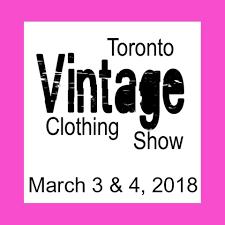 toronto vintage clothing show home facebook