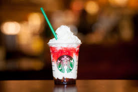 fang tastic frappuccino at starbucks for starbucks