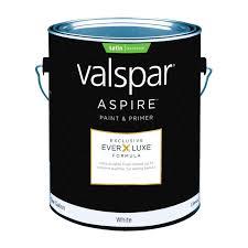 valspar aspire paint u0026 primer exterior satin gallon exterior