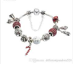 bracelet style pandora with charms images 2017 newest popular red charm bracelets style of christmas jpg