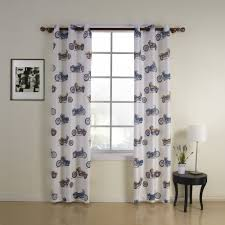 Nursery Girl Curtains by Print Motorcycle Kids Energy Saving Curtain Kids Curtains