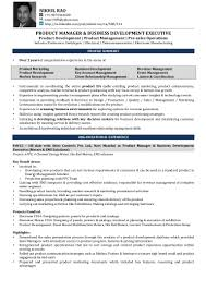 Product Development Manager Resume Sample by Nikhil Rao Resume Product Management