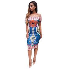 fulltime tm women traditional african print dashiki bodycon off