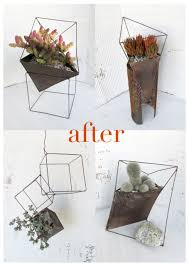 unique indoor planters diy architectural planters that look ancient modern and