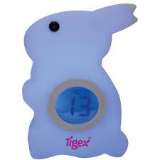 température chambre de bébé veilleuse bébé contrôle de température lapin tigex pas cher à prix