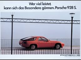 1982 porsche 928 porsche 928 period photos 1982 advertising poster 1280x960