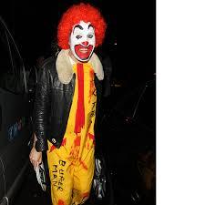 Ronald Mcdonald Halloween Costume 28 Amazing Celebrity Halloween Copy