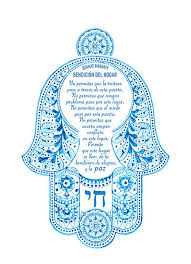 birkat habayit items similar to birkat habayit hamsa in on etsy