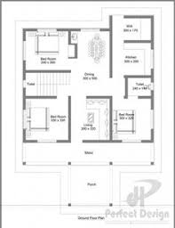 Square Meters To Square Feet by House Plan For 20 Feet By 50 Feet Plot Plot Size 111 Square Yards