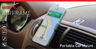 porta iphone per auto kenu airframe supporto per auto compatibile con tutti gli iphone