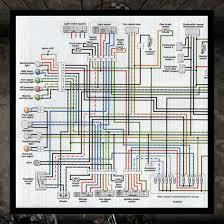 electrical system diagram bonneville thruxton scrambler electrical