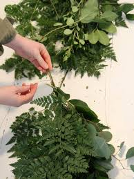 greenery garland how to make floral garland how tos diy
