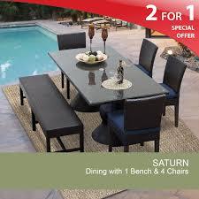 Rectangle Patio Dining Table Rectangular Patio Dining Table Outdoor Dining Table With Bench