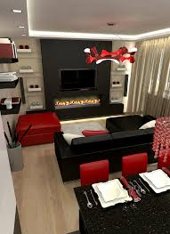 Dorm Themes by Apartments Divine Bedrooms Modern Red White Design Bedroom