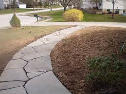 Dry Laid Bluestone Patio by Flagstone Walkways Devine Escapes Path Pinterest Flagstone
