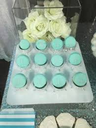 Tiffany Blue Candy Buffet by Flower Ball Sweet 16 Candy Buffet Pinterest Flower Ball And