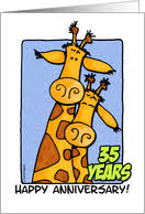 35 year anniversary 35th wedding anniversary cards from greeting card universe