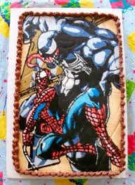 131 best spider man and venom cake ideas images on pinterest