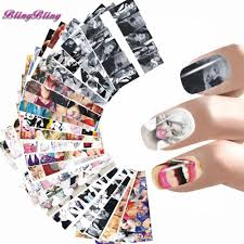 24 sheet nail sticker marilyn monroe nail art water decals audrey