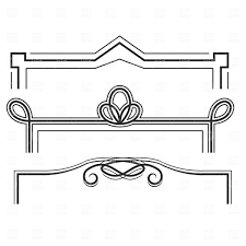 Decorative Line Clip Art Lines Clipart Line Frame Pencil And In Color Lines Clipart Line