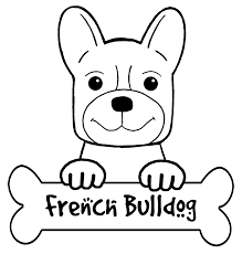drawn bulldog printable pencil and in color drawn bulldog printable