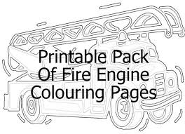 fire truck coloring pages fire truck art gallery free fire