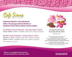 Sunday Brunch Buffet Los Angeles by Mother U0027s Day U2013 Universal City U0026 Los Angeles