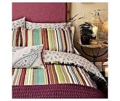 bedeck 1951 bedding ila double duvet cover stripes amazon co uk