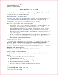 how to write two weeks notice letter gallery letter format examples