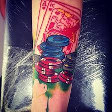 gambling tattoo meanings custom tattoo design