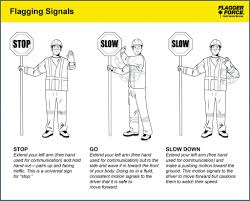 Flagging Companies In Oregon Nonverbal Communication Flagger Force