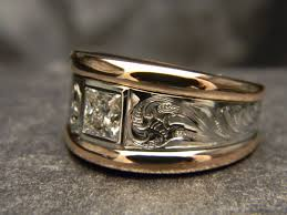 custom engraving jewelry 14 best custom engraved gold rings images on gold
