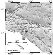Newport Inglewood Fault Map Site Response Maps For The Los Angeles Region