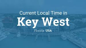 Time Zones Usa Map by Current Local Time In Key West Florida Usa