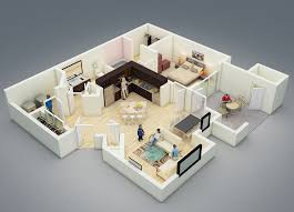 One Bedroom Apartment Plans And Designs One Bedroom Apartment Plans Passionread