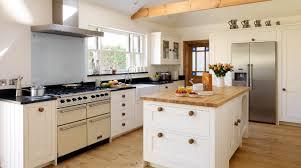 L Shaped Kitchens Designs L Shape Kitchen Design Using White Wood Country Cottage Kitchen