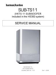 harman kardon sub ts11 service manual loudspeaker amplifier
