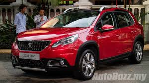 peugeot 2008 interior 2015 2017 peugeot 2008 facelift launched in malaysia 1 2l turbo