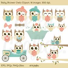 free owl clipart for baby shower clipartxtras