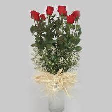 Dozen Roses Dozen Of Roses In A Vase U2013 Flowers By Sylvia