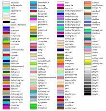 list of color paint colors names list paint color ideas
